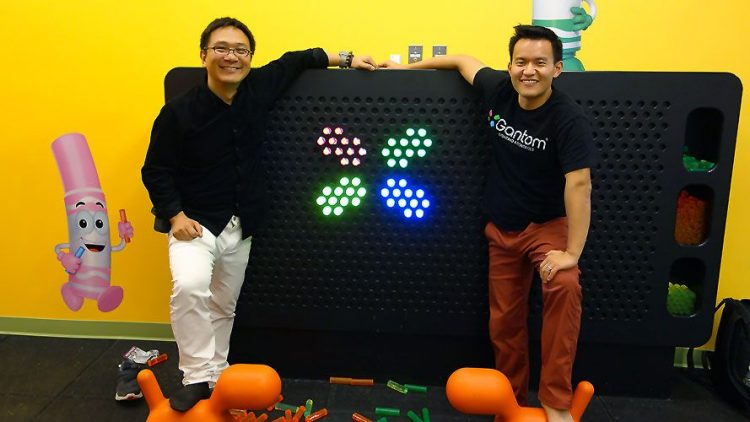 Jerry and Quan, co founders of Gantom